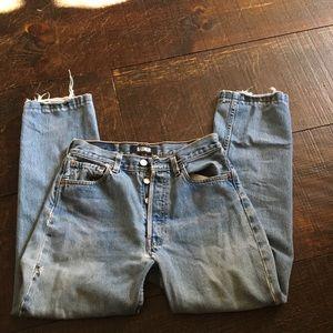 Vintage Reformation Levi Jeans